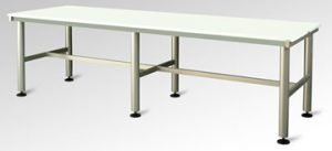Piano Per Tavolo Plastica.Tavolo Con Piano In Plastica Ad Uso Alimentare Blf Inox Montecchio